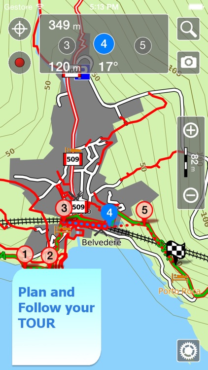 Trails of Cinque Terre HD- GPS and Maps for Hiking screenshot-4