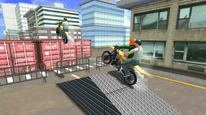 Xtreme Rooftop Bmx Bike Rider screenshot three