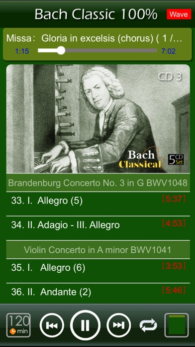 [5 CD]  バッハ Bach Clas... screenshot1