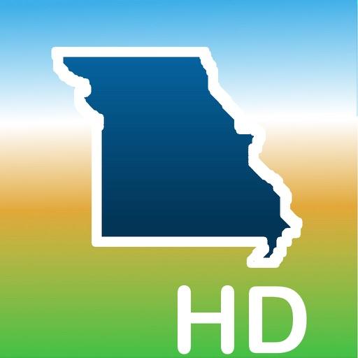 Aqua Map Missouri MO Lakes HD- GPS Nautical Charts