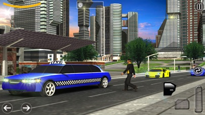 Limo Taxi Transport Sim - Pro Screenshot 1