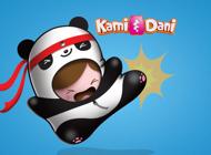 Kami and Dani - Animal Sticker Set
