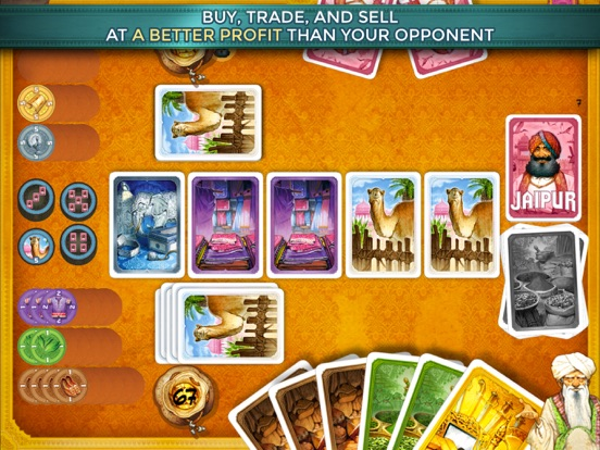 Jaipur: the board game для iPad