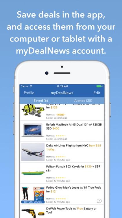 DealNews: Today's Top Deals, Sales and Coupons screenshot-3