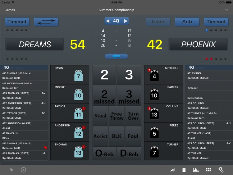 HOOP J for Basketball Scores screenshot-0