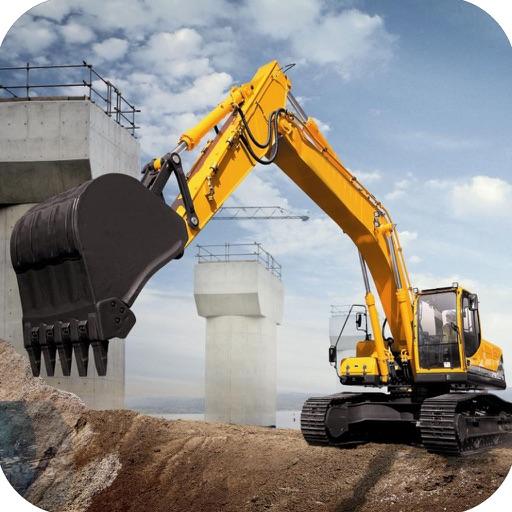Real Construction Excavator : Heavy Duty Crane by Liaqat Khan