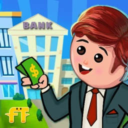 Kids City Bank Job Simulator: Cash Management Game