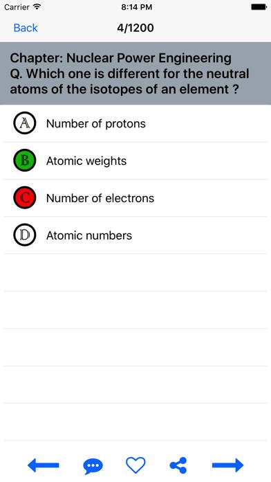 Chemistry Quiz Test screenshot four