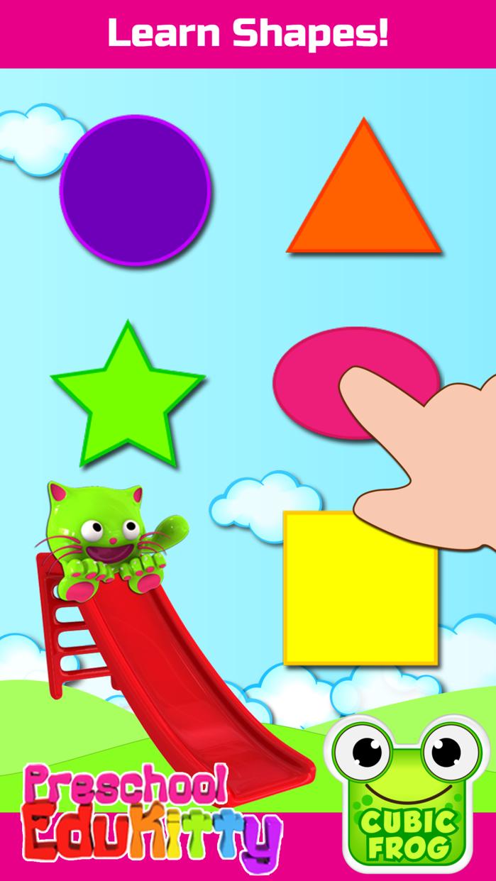 Toddler Learning Game-EduKitty Screenshot