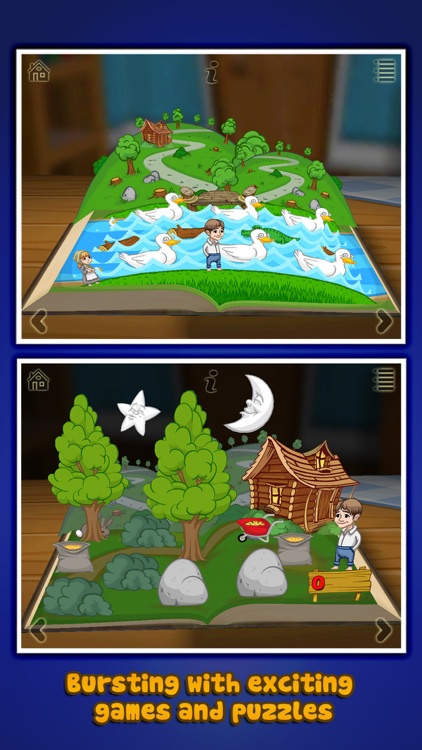 Grimm's Hansel and Gretel ~ 3D Interactive Book