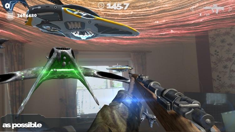 SpaceShooter - AugmentedReality screenshot-4
