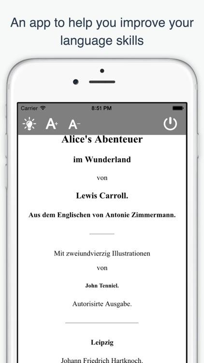 German Reading and Audio Books screenshot-3