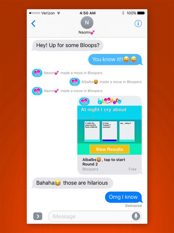 Bloopers - A card game of LOL vs OMG screenshot 10