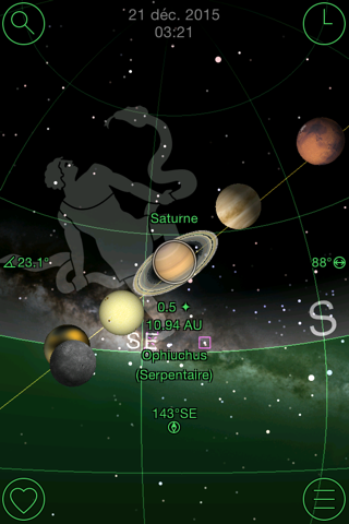 GoSkyWatch Planetarium - Astronomy Night Sky Guide screenshot 2