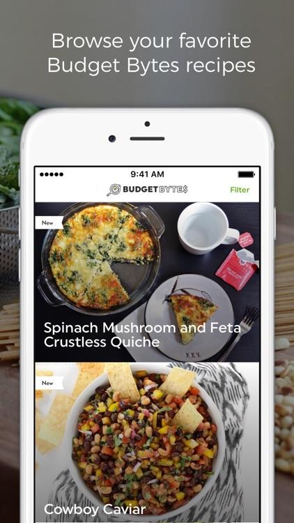 Budget Bytes - Recipes Designed for Small Budgets screenshot-0