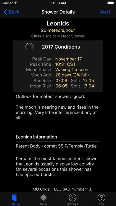 Meteor Shower Guideのおすすめ画像2