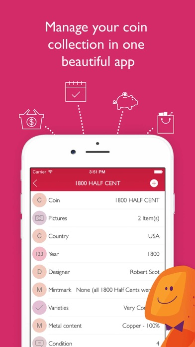 Coin Collector+ By Tryvin app image