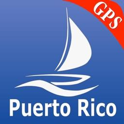 Puerto Rico GPS Nautical charts