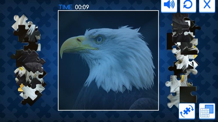 动物世界拼拼看 - 儿童益智拼图游戏 screenshot-4