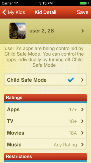 ParentKit - Parental Controls for iOS Screenshot