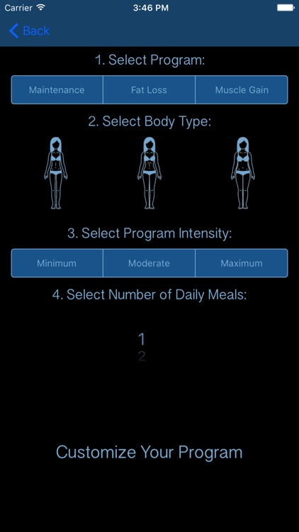 Elite Nutrition Coach screenshot-3