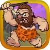 原始人石斧打靶-好玩的动作小游戏
