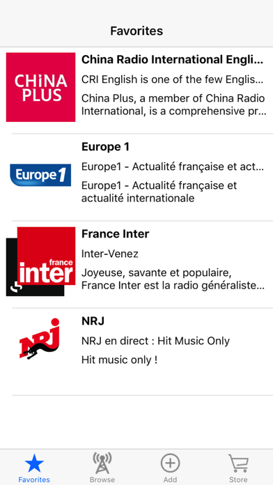Live Internet Radio Tuner screenshot 3