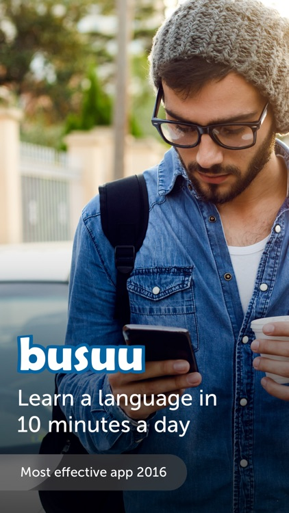 Language learning app with free lessons, download ... - busuu