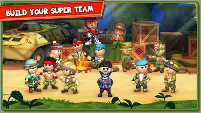 The Troopers: minions in arms Screenshot on iOS