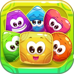 Crush Fruits Puzzles - line jewel puzzles game