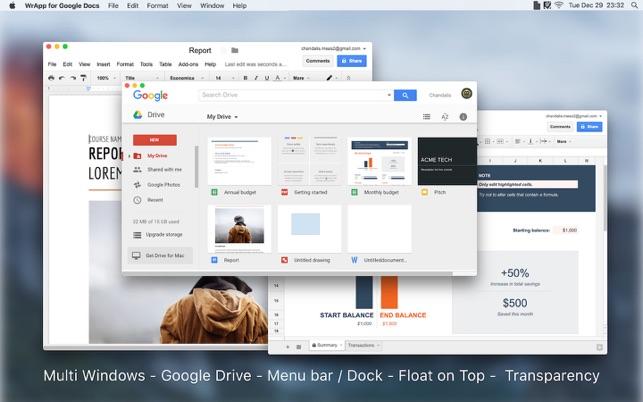 WrApp for Google Docs
