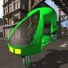 Velotaxi: cycle rickshaw simulator