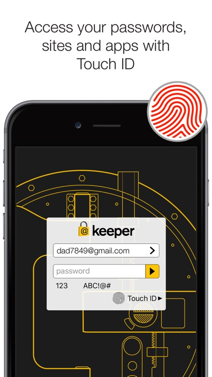 Keeper - Password Manager & Secure File Storage screenshot-0