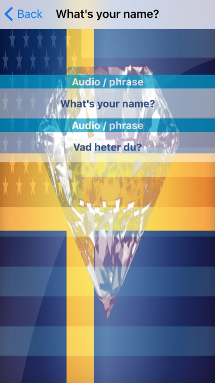 Swedish Phrases Diamond 4K Edition