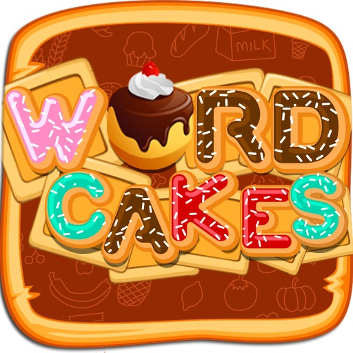 Word Cake Mania - Fun Word Search Brain Games!