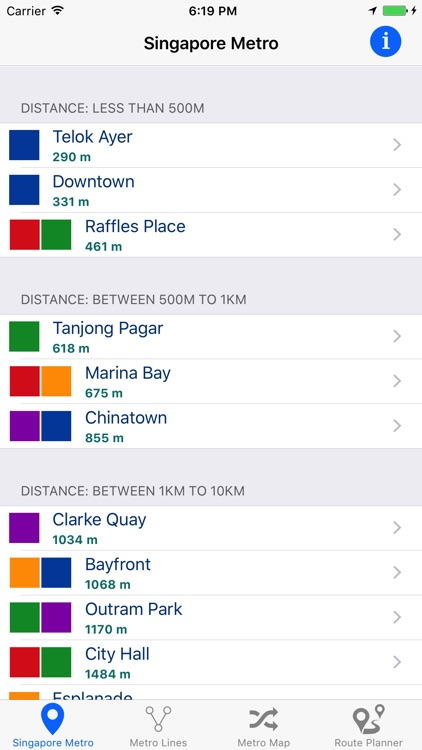 Singapore Metro & Subway screenshot-0