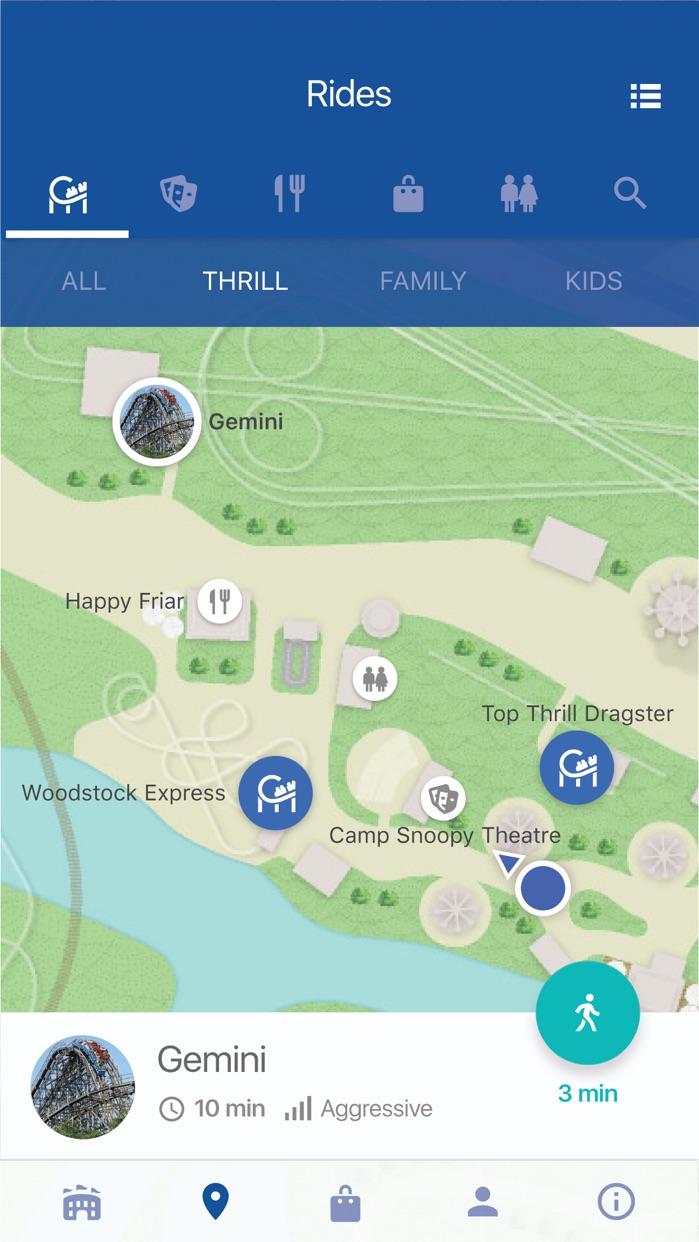 Cedar Point Screenshot