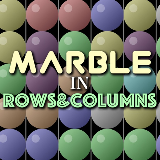 MARBLE in ROWS&COLUMNS