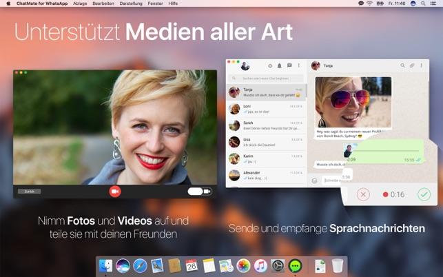 chatmate for whatsapp im mac app store. Black Bedroom Furniture Sets. Home Design Ideas