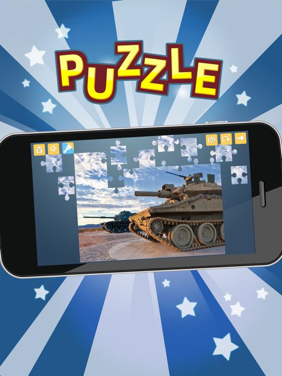 Пазлы танки! Военная техника на iPad