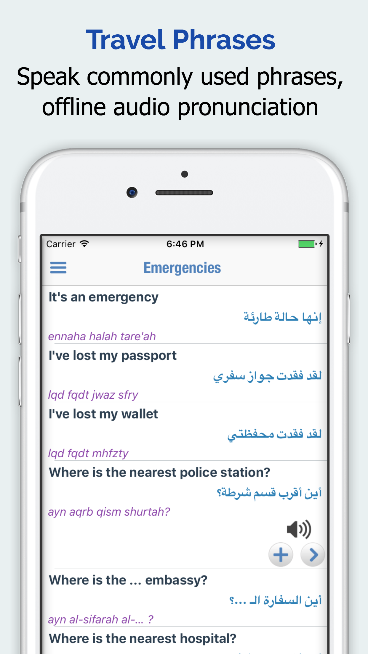 Arabic Dictionary + Screenshot