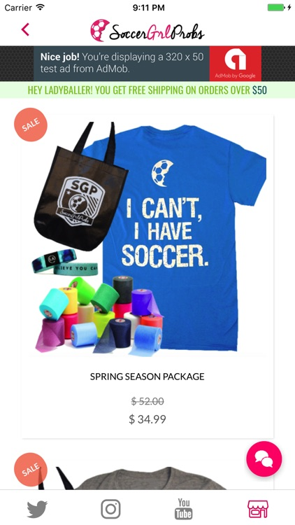 SoccerGrlProbs screenshot-4