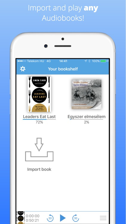SmartBook - Audiobook Player