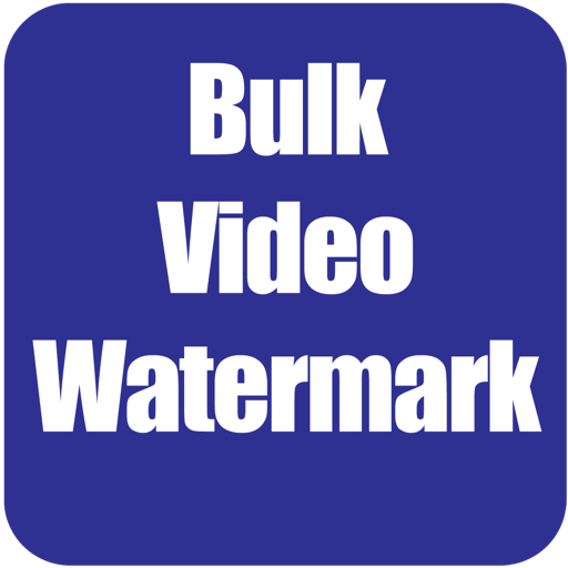 Bulk Video Watermark