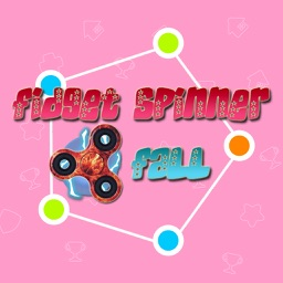 Fidget Spinner Fall Jump Obstacles