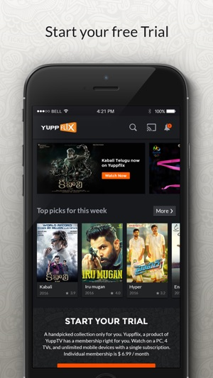 YuppFlix - Movies & TV Shows on the App Store
