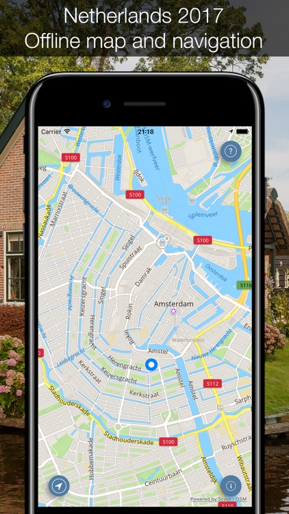Netherlands 2017 — offline map and navigation! screenshot-0