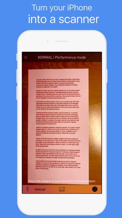 Scan mate - Digitize papers screenshot-0
