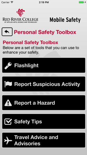 Mobile Safety Red River College On The App Store