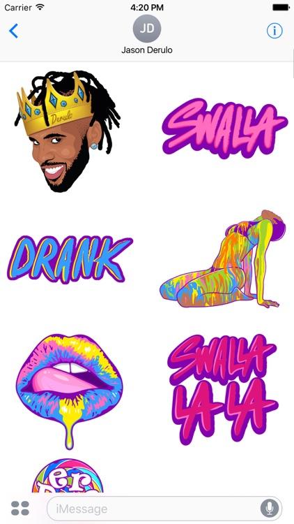 Jason Derulo Sticker Pack